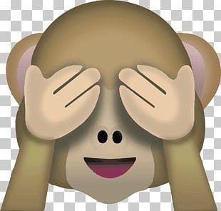 Pile Of Poo Emoji T-shirt Sticker Monkey PNG