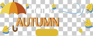 Autumn Banner PNG