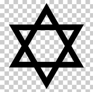 Star Of David Judaism Symbol PNG