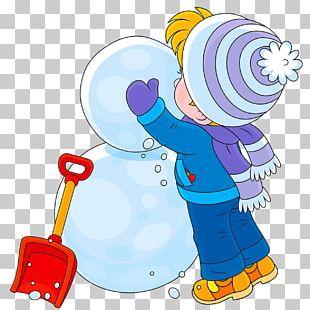 Snowman Child PNG