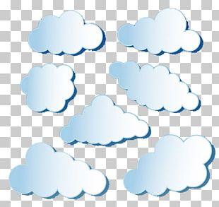 Paper Cloud Vecteur PNG