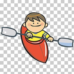 Rowing Canoeing Boat PNG