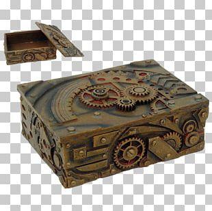 Steampunk Box Gothic Fashion Tarot Jewellery PNG