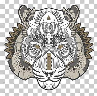 Tiger Illustration Drawing Doodle Art PNG