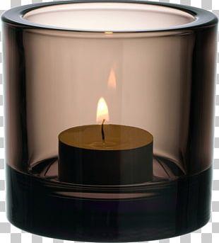 Iittala Candle Tealight Glass PNG