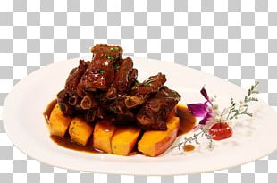 Pork Ribs Chinese Cuisine Braising Five-spice Powder PNG