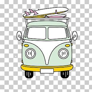 Volkswagen Type 2 Van Volkswagen California Car PNG
