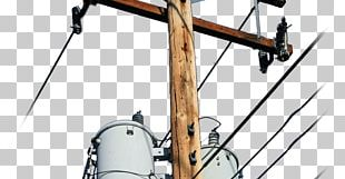Utility Pole Electricity Electric Power Transmission Tower Public Utility PNG