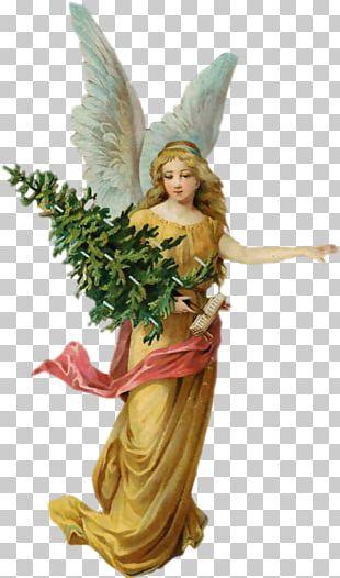 Angel Christmas Tree Cherub PNG