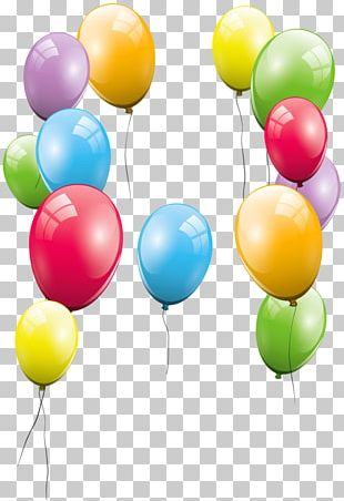 Balloon Birthday Party PNG