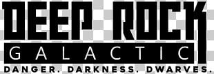 Deep Rock Galactic Logo Brand First-person Shooter Font PNG