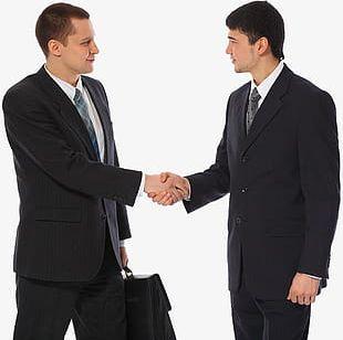 Handshake Man PNG