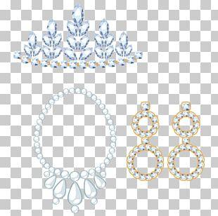 Earring Crown Diamond Jewellery PNG
