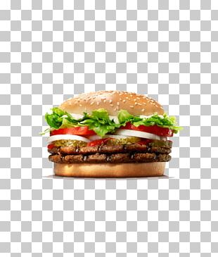 Whopper Cheeseburger Hamburger Burger King Grilled Chicken Sandwiches KFC PNG