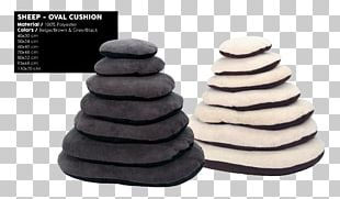 Sheep Pillow Black Cushion Grey PNG