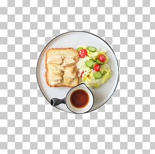 Coffee Breakfast Hamburger Bread PNG