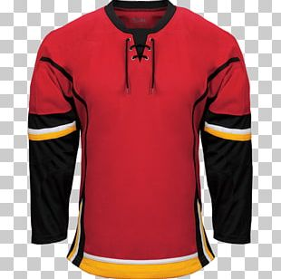 Calgary Flames National Hockey League Detroit Red Wings Hockey Jersey PNG