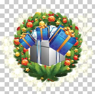 Christmas Decoration Wreath PNG