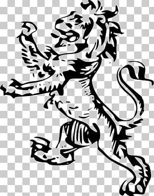 Royal Banner Of Scotland Scottish Crest Badge Lion PNG