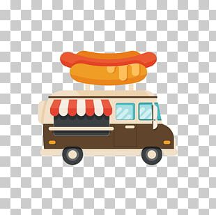 Hot Dog Hamburger Fast Food Food Truck PNG