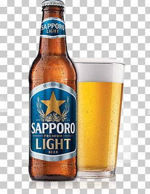 Sapporo Brewery Beer Pale Lager PNG