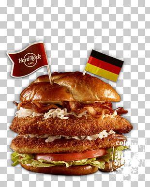 Breakfast Sandwich Hamburger Cheeseburger Hard Rock Cafe Restaurant PNG