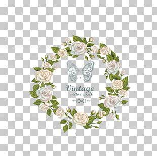 Wedding Invitation Flower Greeting Card PNG