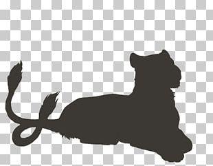 Whiskers Lion Black Panther Black Cat Leopard PNG