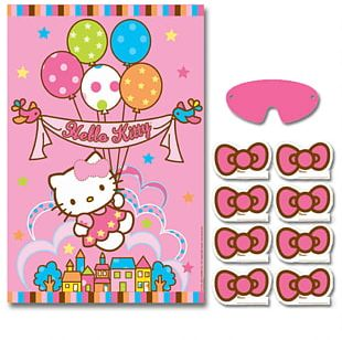 Hello Kitty Kitty Party Birthday Party Game PNG
