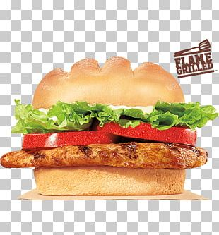 Whopper Burger King Grilled Chicken Sandwiches Cheeseburger Fast Food PNG