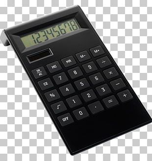 Solar-powered Calculator Promotional Merchandise PNG