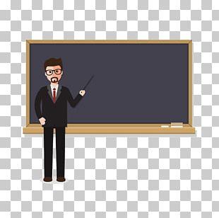 Teacher Education Blackboard Student PNG