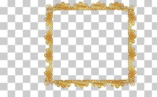 Borders And Frames Frames Gold PNG
