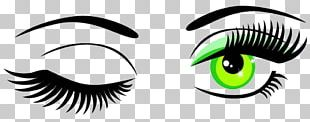 Wink Eye Scalable Graphics PNG