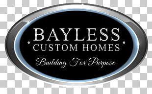 Bayless Custom Homes Building Logo PNG