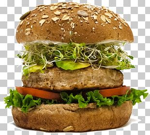 Salmon Burger Cheeseburger Whopper McDonald's Big Mac Buffalo Burger PNG