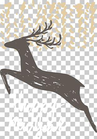 Deer Poster Euclidean PNG