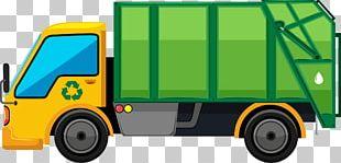 Garbage Truck Rubbish Bins & Waste Paper Baskets PNG