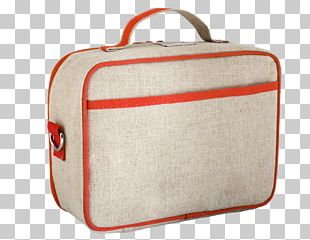 Lunchbox Linen Thermal Bag PNG