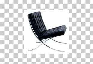 Barcelona Chair Eames Lounge Chair Barcelona Pavilion Wing Chair PNG