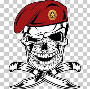 Human Skull Symbolism Tattoo PNG