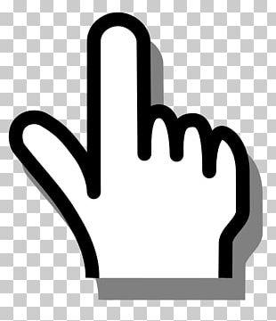 Index Finger Pointing PNG