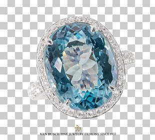 Ring Diamond Sapphire Brilliant Stonesetting PNG