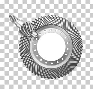 Spiral Bevel Gear Worm Drive Manufacturing PNG