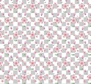 Flower Pink Pattern PNG
