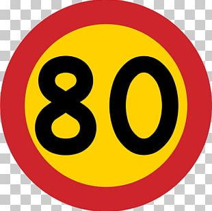 Kilometer Per Hour Highway Road Traffic Sign Speed Limit PNG