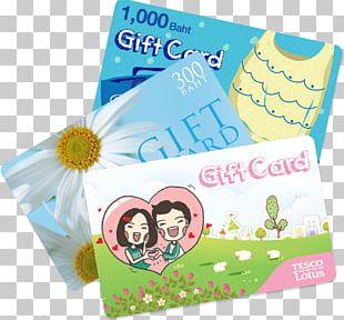 Tesco Lotus Gift Card Voucher PNG