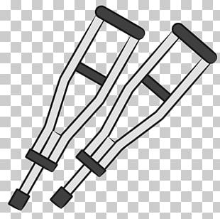 Therapy Osteopathy Crutch PNG