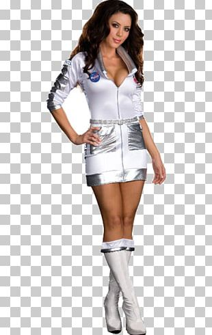 Halloween Costume Astronaut Woman Space Suit PNG