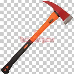 Battle Axe Firefighter Knife Handle PNG